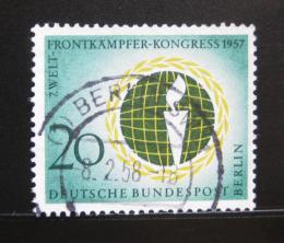 Poštovní známka Západní Berlín 1957 Federace veteránů Mi# 177 - zvětšit obrázek