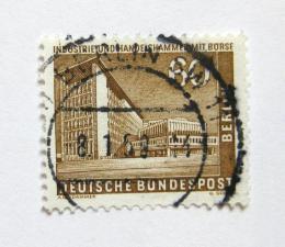 Poštovní známka Západní Berlín 1957 Budova obchodní komory Mi# 151 - zvětšit obrázek