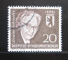 Poštovní známka Západní Berlín 1961 Louise Schroeder, politička Mi# 198 - zvětšit obrázek