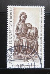 Poštovní známka Západní Berlín 1967 Dřevěná socha Mi# 308 - zvětšit obrázek