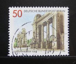 Poštovní známka Západní Berlín 1986 Charlotterburg Gate Mi# 761 - zvětšit obrázek