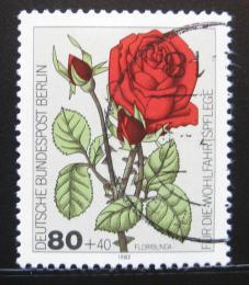 Poštovní známka Západní Berlín 1982 Růže Mi# 682 - zvětšit obrázek