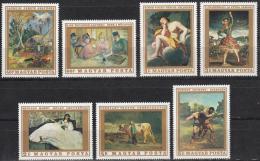 Poštovní známky Maďarsko 1969 Umění Mi# 2506-12 - zvětšit obrázek