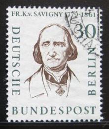 Poštovní známka Západní Berlín 1957 Friedrich Karl von Savigny Mi# 170 - zvětšit obrázek