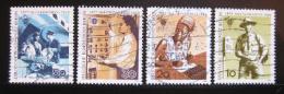 Poštovní známky Západní Berlín 1969 Poštovní kongres Mi# 342-45 - zvětšit obrázek