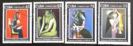 Poštovní známky Kuba 2002 Umění, Wilfredo Lam Mii# 4481-84 Kat 6€ - zvětšit obrázek