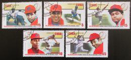 Poštovní známky Kuba 2004 Baseball Mi# 4654-58 - zvětšit obrázek