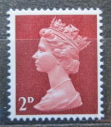 Poštovní známka Velká Británie 1968 Královna Alžběta II. Mi# 454 - zvětšit obrázek