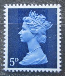 Poštovní známka Velká Británie 1968 Královna Alžběta II. Mi# 457 - zvětšit obrázek