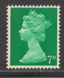 Poštovní známka Velká Británie 1968 Královna Alžběta II. Mi# 459 - zvětšit obrázek
