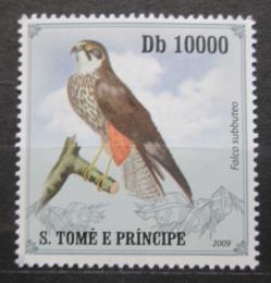 Poštovní známka Svatý Tomáš 2009 Ostříž lesní Mi# 4266  - zvětšit obrázek