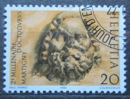 Poštovní známka Švýcarsko 1983 Ozdoba sloupu Mi# 1256 - zvětšit obrázek