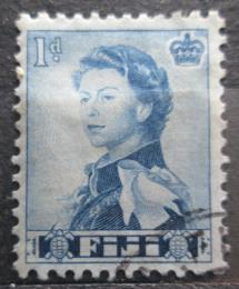 Poštovní známka Fidži 1964 Královna Alžběta II. Mi# 154 Kat 4.80€ - zvětšit obrázek
