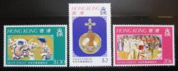 Poštovní známky Hongkong 1977 Vláda Alžběty II., 20. výročí Mi# 331-33 Kat 5€ - zvětšit obrázek