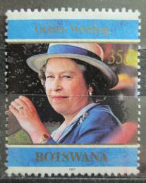 Poštovní známka Botswana 1997 Královna Alžběta II. Mi# 648 - zvětšit obrázek