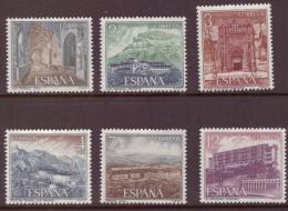 Poštovní známky Španělsko 1976 Pamětihodnosti Mi# 2227-32 Kat 5.50€ - zvětšit obrázek