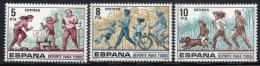 Poštovní známky Španělsko 1979 Sport Mi# 2408-10 - zvětšit obrázek
