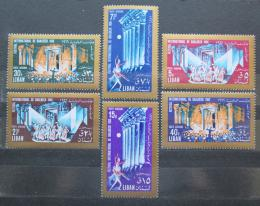 Poštovní známky Libanon 1966 Mezinárodní festival Mi# 940-45 - zvětšit obrázek