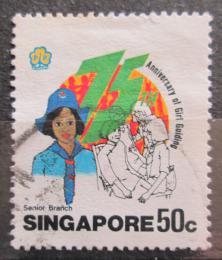 Poštovní známka Singapur 1985 Skautky, 75. výročí Mi# 483 - zvětšit obrázek