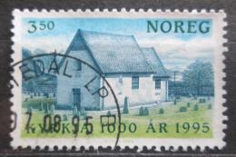 Poštovní známka Norsko 1995 Kostel, Moster Mi# 1181 - zvětšit obrázek