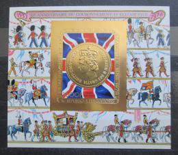 Poštovní známka Komory 1978 Vláda Alžběty II., 25. výročí Mi# Block 147 B Kat 25€ - zvětšit obrázek