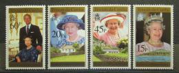 Poštovní známky Tristan da Cunha 1996 Královna Alžběta II. Mi# 589-92 - zvětšit obrázek