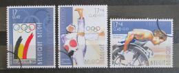 Poštovní známky Belgie 2000 LOH Sydney Mi# 2959-61 - zvětšit obrázek