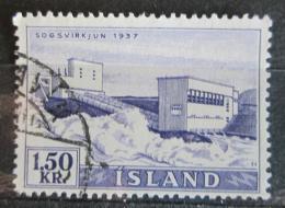 Poštovní známka Island 1956 Elektrárna Sogs Mi# 306 - zvětšit obrázek
