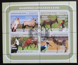 Poštovní známky Guinea-Bissau 2008 Africká fauna Mi# 3812-15 Kat 8€ - zvětšit obrázek