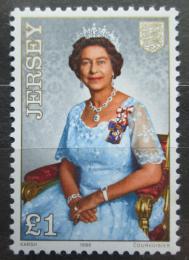 Poštovní známka Jersey, Velká Británie 1986 Královna Alžběta Mi # 377 Kat 4.50€ - zvětšit obrázek