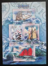 Poštovní známky Burundi 2012 Plachetnice neperf. Mi# 2481-84 B - zvětšit obrázek
