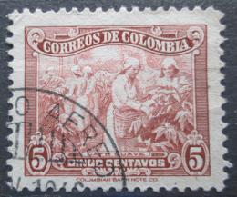 Poštovní známka Kolumbie 1944 Sběr kávy Mi# 445 - zvětšit obrázek