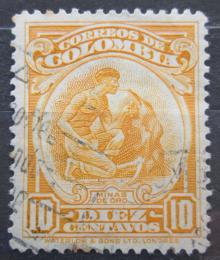 Poštovní známka Kolumbie 1932 Hledání zlata Mi# 325 - zvětšit obrázek