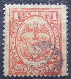 Poštovní známka Kolumbie 1892 Státní znak Mi# 107 - zvětšit obrázek