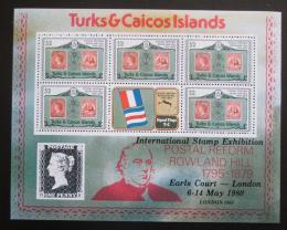 Poštovní známky Turks a Caicos 1979 Rowland Hill Mi# 441 C Bogen Kat 20€ - zvětšit obrázek