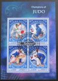 Poštovní známky Sierra Leone 2016 Judo Mi# 7638-41 Kat 11€