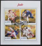 Poštovní známky Sierra Leone 2015 Judo Mi# 6738-41 Kat 11€
