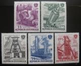Rakousko 1961 Znárodněný průmysl Mi# 1092-96