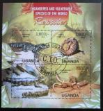 Poštovní známky Uganda 2013 Plazi Mi# 3025-28 Kat 22€