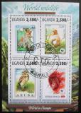 Poštovní známky Uganda 2013 Fauna WWF na známkách Mi# 3143-46 Kat 12€