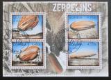 Poštovní známky Uganda 2012 Vzducholodě Mi# 2916-19 Kat 13€