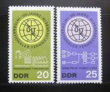 DDR 1965 Století ITU Mi# 1113-14