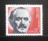 Poštovní známka DDR 1972 Jiří Dimitrov Mi# 1784