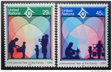 Poštovní známky OSN New York 1994 Mezinárodní rok rodiny Mi# 661-62