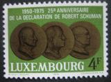 Poštovní známka Lucembursko 1975 Medaile Mi# 909