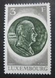 Poštovní známka Lucembursko 1972 Schumanova medaile Mi# 849