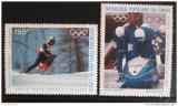 Poštovní známky Kongo 1986 ZOH Calgary Mi# 1056-57