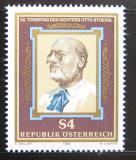 Poštovní známka Rakousko 1986 Otto Stoessl, spisovatel Mi# 1860