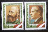 Poštovní známky Rakousko 1989 Básníci Mi# 1974-75