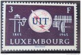 Poštovní známka Lucembursko 1965 ITU, 100. výročí Mi# 714